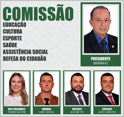 Comissão ECESAD 2021