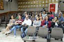 Alunos do curso técnico em Administração do Instituto Federal do Paraná visitam a Câmara Municipal de Foz do Iguaçu - 08-08 (02)