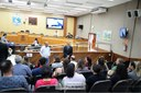 Alunos do curso técnico em Administração do Instituto Federal do Paraná visitam a Câmara Municipal de Foz do Iguaçu - 08-08 (05)