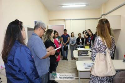 Alunos do curso técnico em Administração do Instituto Federal do Paraná visitam a Câmara Municipal de Foz do Iguaçu - 08-08 (10)