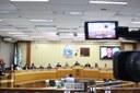 O presidente da Câmara, Beni Rodrigues (PSB) e os vereadores Elizeu Liberato (PR), Rogério Quadros (PTB), Celino Fertrin (PDT), Rosane Bonho (Progressista), Edson Narizão (PTB) e João Miranda (PSD) também prestigiaram o evento.