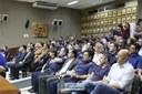 Durante a comemoração, a Guarda Municipal teve a história contada em vídeo por integrantes da própria corporação, com momentos que marcaram o início e a trajetória da instituição, que se tornou referência nacional e em alguns países do exterior.