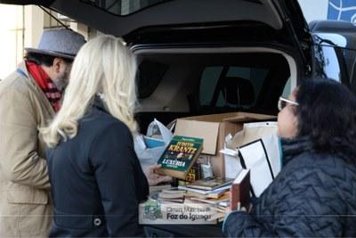 Doação de livros a Biblioteca Municipal - 04-07 (06)