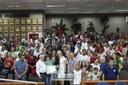 Vereadores, pais, alunos e professores na Moção de Aplauso nº 02/2019, proposta pelo parlamentar Jeferson Brayner (PRB)