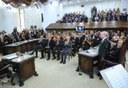 Posse do novo presidente do Tribunal de Contas do Paraná, conselheiro Nestor Baptista. 23-01-2019