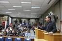 Beni Rodrigues (PSB) fez agradecimento em nome de todos os parlamentares