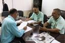 Reunião com representantes do Sindicato dos Transportes Escolares - 27-02-2019