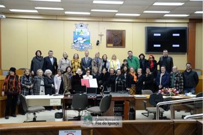 Título de Cidadã Honorária a Iracema Dariz - 08-07 (01)