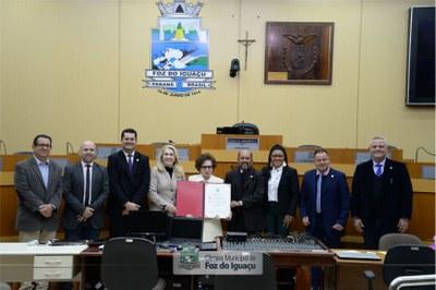 Título de Cidadã Honorária a Iracema Dariz - 08-07 (03)