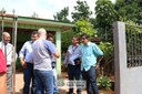 Vereadores conversaram com moradores do Arroio Dourado a respeito da Audiência Pública do dia 24 de abril que irá tratar sobre a desafetação do local - 15/04/2019 - Foto: Maria Fernanda Setti (Diretoria de Comunicação)