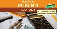 Audiência pública: Câmara convoca sociedade para debater diretrizes para o orçamento municipal de 2020