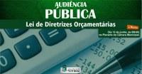 Audiência pública irá debater metas para o orçamento municipal de 2019