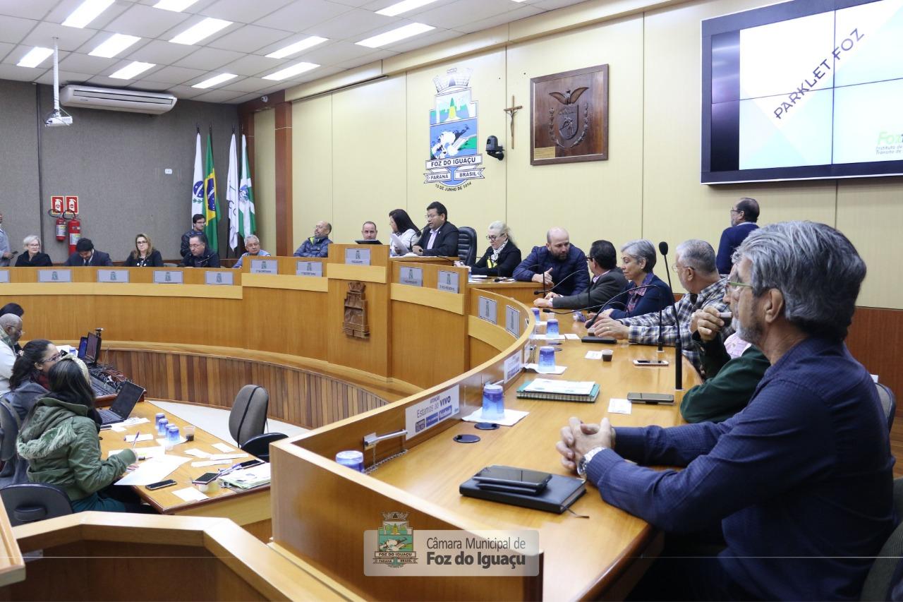 Audiência reforça decisão pela implantação de Parklets em Foz do Iguaçu