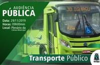 Audiência vai discutir transporte público em Foz do Iguaçu no dia 29/11, às 09h, na Câmara