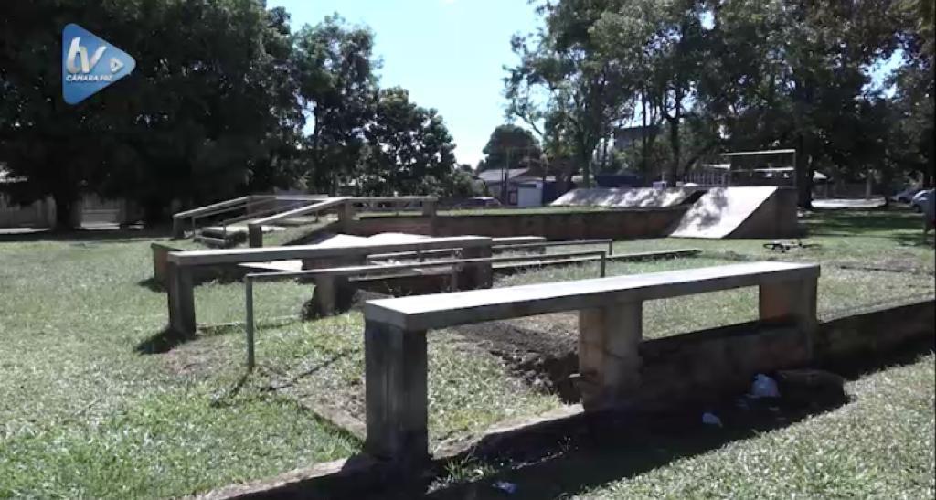 Câmara cobra finalização da pista de Skate do bairro Morumbi