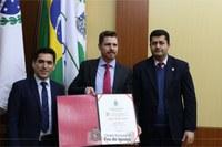 Câmara de Foz congratula Mozart Fuchs com Título de Cidadão Benemérito de Foz