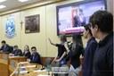 Câmara de Foz empossa vereadores mirins em projeto de parceria com o TRE
