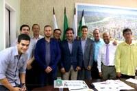 Câmara de Foz recebe visita de candidatos a Prefeito de Porto Iguaçu