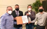 Câmara participa da autorização da licitação para retomada das obras da Olímpio Rafagnin