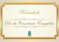 Câmara realiza sessão solene em celebração ao Dia da Consciência Evangélica