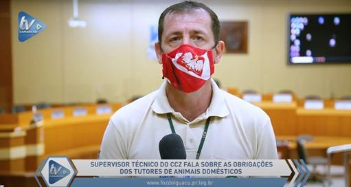 Carlos Santi, do CCZ, alerta sobre responsabilidades e conscientização a respeito da guarda de animais