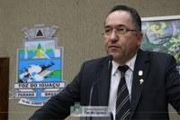 Celino Fertrin propõe a instalação de câmeras de monitoramento em escolas e unidades de saúde