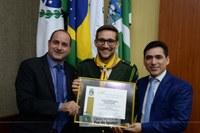 Clube de Desbravadores de Foz do Iguaçu é homenageado na Câmara