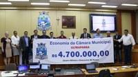 Corte de gastos na Câmara gera economia de R$ 4,7 milhões no ano