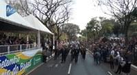 Desfile da Independência reuniu multidão na Avenida Paraná