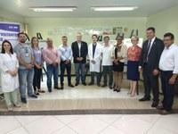 Durante visita, vereadores anunciam auxílio ao Hospital Municipal