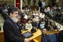 Fiéis lotaram o plenário da câmara em comemoração ao dia da consciência evangélica