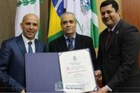 Jornalista esportivo Doniseti Melo recebe título de cidadão honorário de Foz