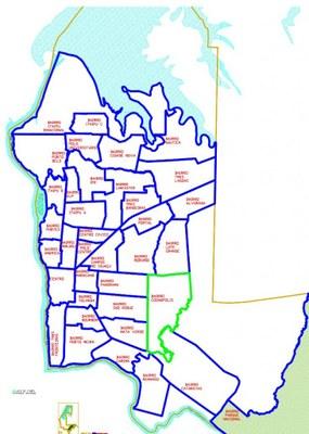 Mudança em denominação dos bairros será tema de audiência pública