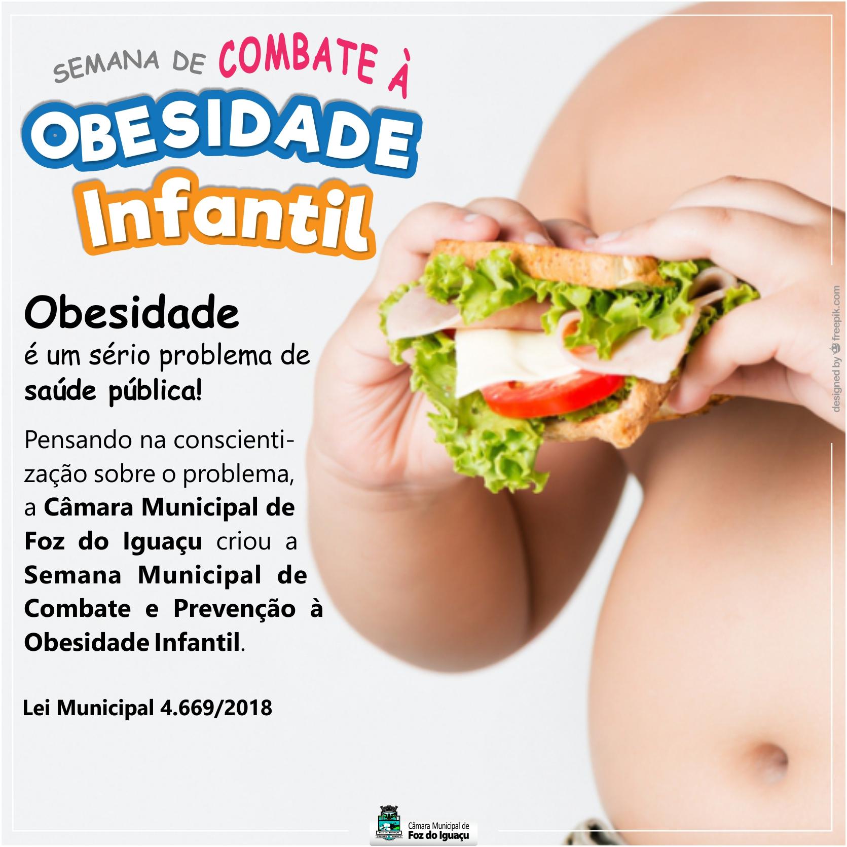 Obesidade é um sério problema de saúde pública!