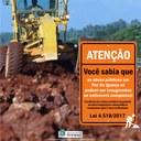 Obra pública em Foz do Iguaçu só pode ser inaugurada se estiver completa!