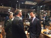 Presidente Beni Rodrigues representou a Câmara de Foz em evento com Ministro Sérgio Moro