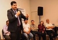 Presidente da Câmara assegura prioridade em votação do projeto Destrava Foz