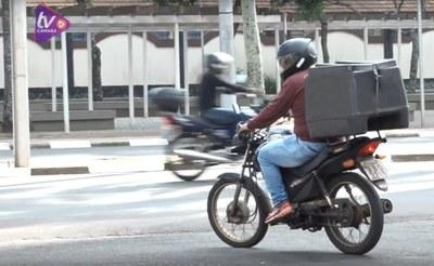 Projeto visa aumentar segurança dos trabalhadores dos serviços de entrega