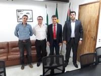 Rogério Quadros participa de reunião na Secretaria Estadual de Segurança Pública