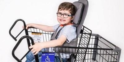 Sancionada lei dos carrinhos adaptados em supermercados para crianças com deficiência