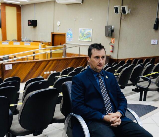 Vereador Cabo Cassol ressalta as prioridades do mandato e projeto que fomenta primeiro emprego do jovem