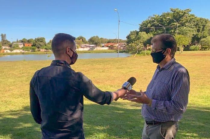 Vereador Dr. Freitas cobra do Executivo revitalização e mais segurança para o Parque Remador
