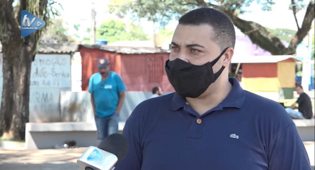 Vereador Jairo sugeriu ao Executivo instalação de posto fixo policial na praça de Três Lagoas