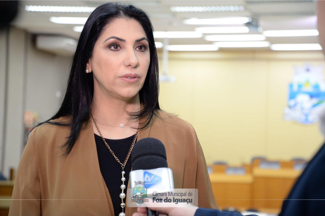 Vereadora Anice dados, ao Governo do Estado, sobre violência contra a mulher no período da pandemia em Foz