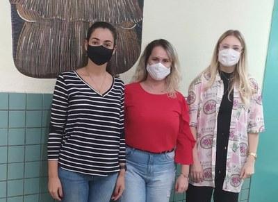 Vereadoras da bancada feminina visitam cram  para tratar de políticas públicas para mulheres