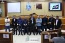 Vereadores destacam projetos para a cidade em reunião com deputado eleito