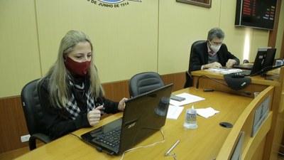 Vereadores participam da prestação de contas da Secretaria de Saúde