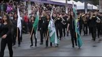 Vereadores participam de desfile cívico em comemoração ao aniversário de Foz