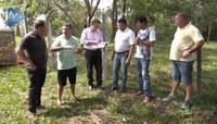 Vereadores visitam área e dão parecer favorável à liberação para construção de moradias
